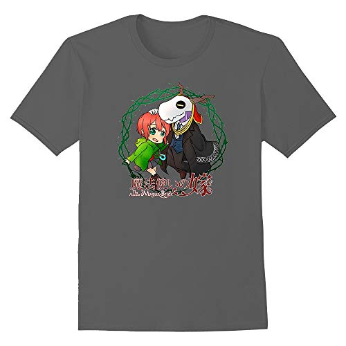 Hoyoiun Camiseta gráfica The Ancient Magus Bride Anime Character Elias and Chise