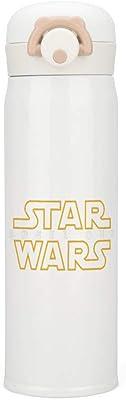 Star Wars スターウォーズバッジシンボル 水筒 魔法瓶 ステンレスボトル 500ml 真空断熱 保温コップ 保冷コップ 最大24時間保温