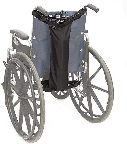 ZJWD Sauerstofftankhalter Für Rollstühle Sauerstoffrucksack Rollstuhlbeutel Beutelträger Für Rollstühle (D & E-Flaschen),5 Pieces