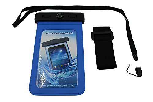 Dzhavael Couture Waterproof Universal Lanyard Pouch Cell Phone Holder for Swimming