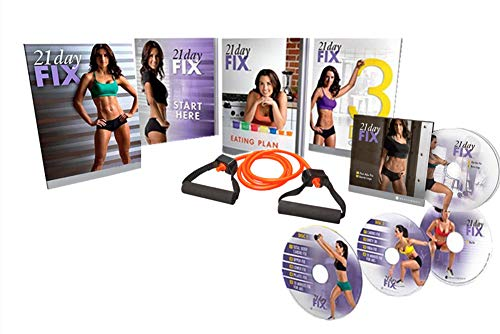 Qspeed 21 Day Fix Workout Program 4 DVD