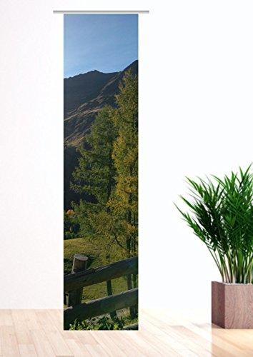 gardinen-for-life Flächenvorhang Tiroler Herbst Schiebevorhang, Gr.60 x 245 cm