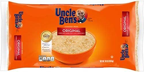 UNCLE BEN S Original Converted Long Grain Rice Bag 10 pounds product image