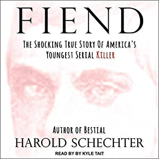 Fiend audiobook cover art