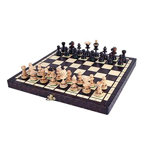 Ajedrez Haya Juego de ajedrez Ajedrez Refinado de Grado Almacenamiento Interior Tablero...