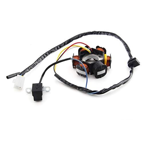 Alternador de repuesto para Peugeot Ludix/Ludix 2 (50 ccm/2T)