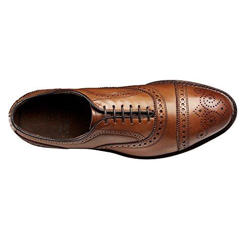Allen Edmonds Men's Strand Cap Toe 13 E Men 1635 Walnut Calf Oxfords Shoes