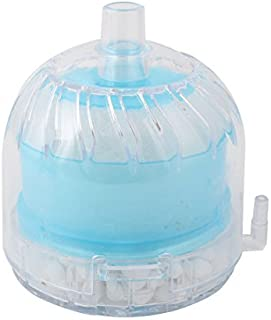 eDealMax Shell plástico bioquímica de oxígeno Esponja acuario sumergible filtro de aire Bomba accionada