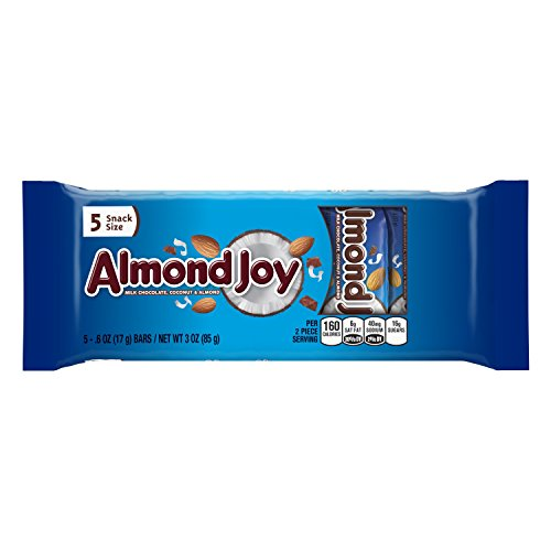ALMOND JOY Snack Size Candy Bars (3-Ounce Bag)
