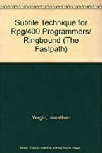 Subfile Technique for Rpg/400 Programmers/ Ringbound