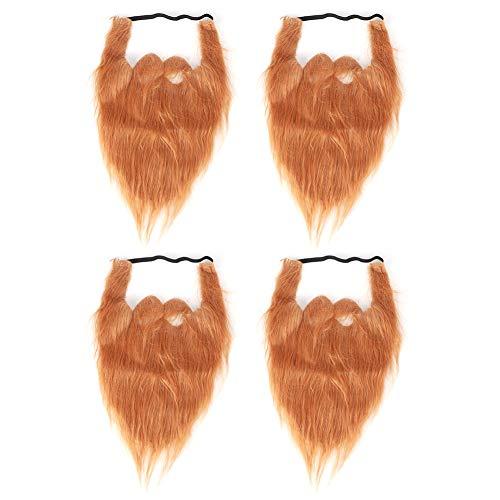 DEWIN Barbas Falsas - Barba de Halloween Barba Navidad Divertido Bigote Falso...