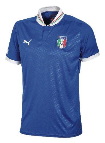 PUMA, Maglia da Calcio Italia Home Replica, Blu (Team Power Blue), L