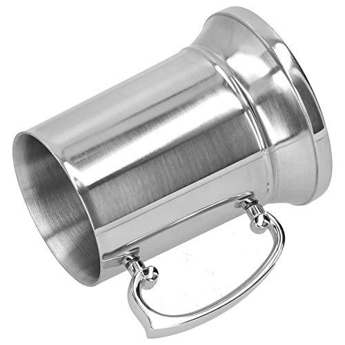 FEBT Jarra de Cerveza, Tazas seguras, Tazas con asa, duraderas y ecológicas para Bar en casa(560ML)