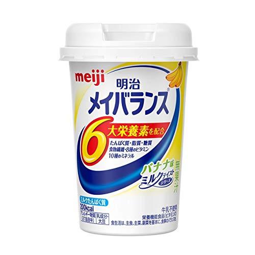 明治 メイバランス Miniカップ バナナ味 125ml