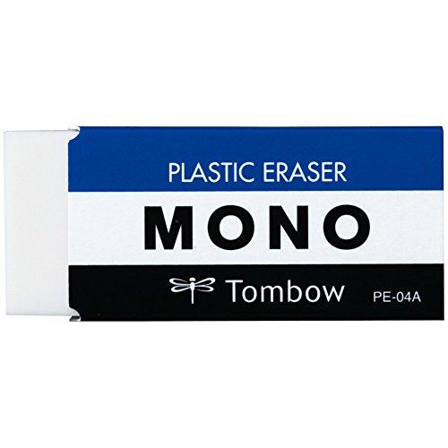 Tombow PE-04A Radierer MONO M, PVC, phthalat und latexfrei, 19 g