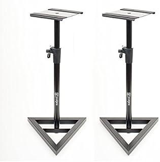 AxcessAbles AXA SMS-101 Heavy Duty Studio Monitor Speaker Stands (Pair)