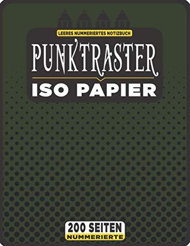 Punktraster Notizbuch A4 - 200 Nummerierte Seiten Bullet Journal: Heft Tagebuch Isometrisches Punkt Papier + Monatliche Erinnerung und Themenliste (Isometric Dot Paper - Punktkariertes Papier N°44)