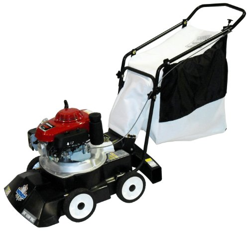 New Patriot Products CBV-2455H 24-Inch Honda Gas Powered Walk Behind 3-In-1 Leaf Vacuum/Chipper/Blow...