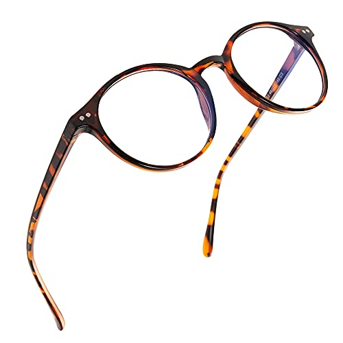 Hikaro Blaulicht Sperrbrillen Quadratischer Gestell Anti-Eyestrain-Computer/Gaming/TV/Telefone Brille für Frauen/Männer