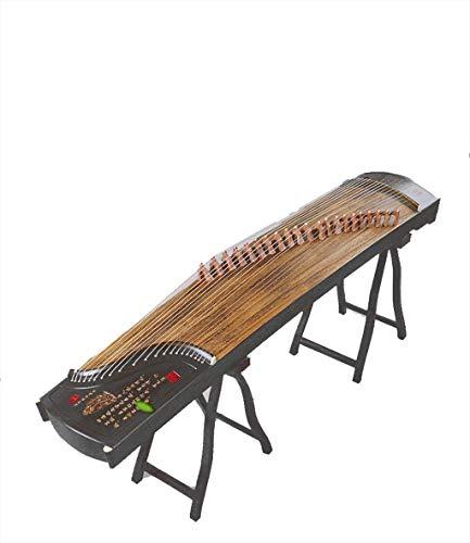 N /A Guzheng, Größe: 163cm, 64inchs, mit einem kompletten Satz von Zubehör, chinesischem Musikinstrument, Geeignet for Einsteiger, Profis, Einleitende Praxis,
