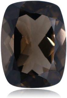 Mysticdrop Elongated Cushion Cut Smoky Quartz Loose Gemstones from 6x4mm - 14x12mm