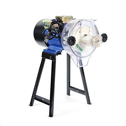 Electric Mill Grinder Machine,110V Electric Feed Mill Wet Dry Cereals Grinder Rice Corn Grain Coffee Wheat 2200W Commercial small ultra-fine powder grinding machine (US STOCK)