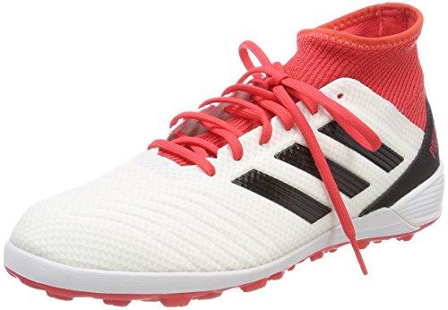 adidas Predator Tango 18.3 Tf, Scarpe da Calcio Uomo, Bianco (Ftwwht/Cblack/Reacor Ftwwht/Cblack/Reacor), 41 1/3 EU