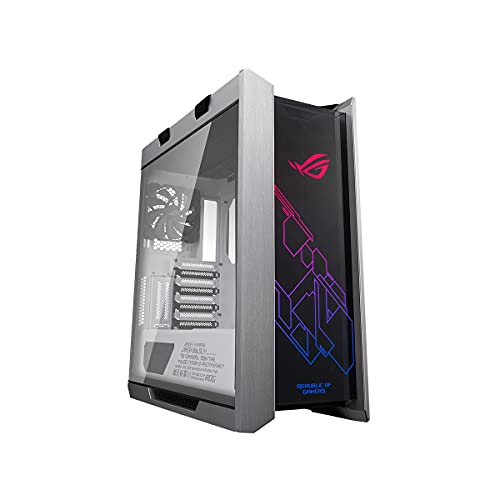 ASUS ROG Strix Helios GX601 White Edition RGB Mid-Tower Computer Case...