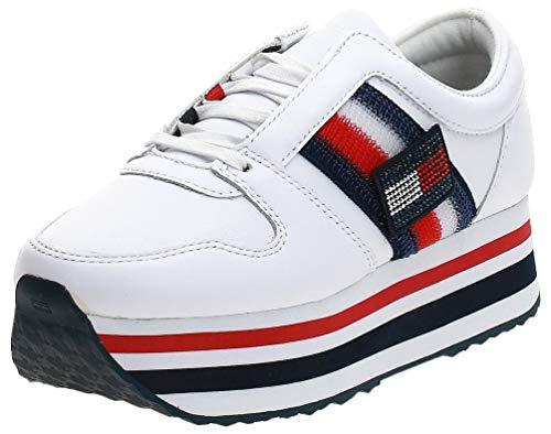 Tommy H. Sneaker White FW0FW04595