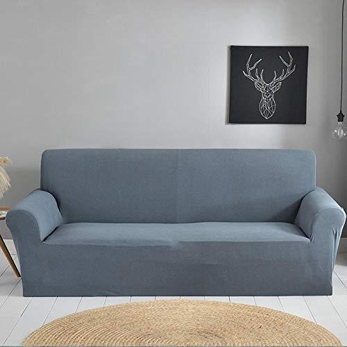 Allenger Funda Sofa Elastica Protector Adaptable,Funda De Sofá De Color Sólido para Muebles De Sillón De Esquina Seccional De Sala De Estar-13_145-185Cm