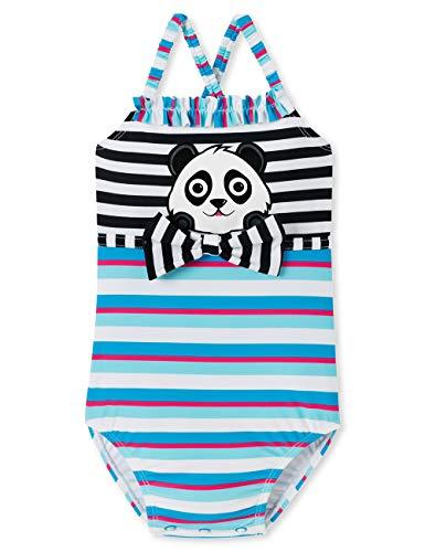 Schiesser Baby-Mädchen Aqua Badeanzug, Mehrfarbig (Multicolor 904), 74 (Herstellergröße: 413)