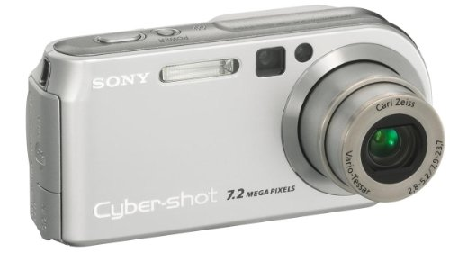Sony Cyber-Shot DSC-P200 schwarz Digitalkamera (7 Megapixel)
