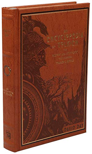An Encyclopedia of Tolkien: The History and Mythology That Inspired Tolkien's World (Leather-bound...