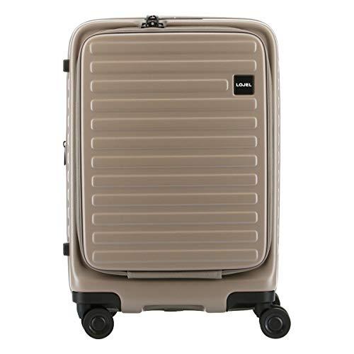 [ロジェール] スーツケース CUBO-S Sサイズ 機内持込可 37L/42L 50.5cm 3.1kg グレー