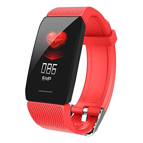 TISHITA Smart Watch para Teléfonos Android Y Teléfonos iOS Smartwatch - Rojo