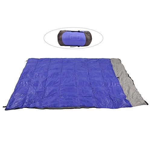 FastUU Sac de Couchage de Camping, Sacs de Sommeil Portables de 82,68 x 55,12 Pouces, randonnée Filles Femmes pour Enfants Adultes Camping Naturehike
