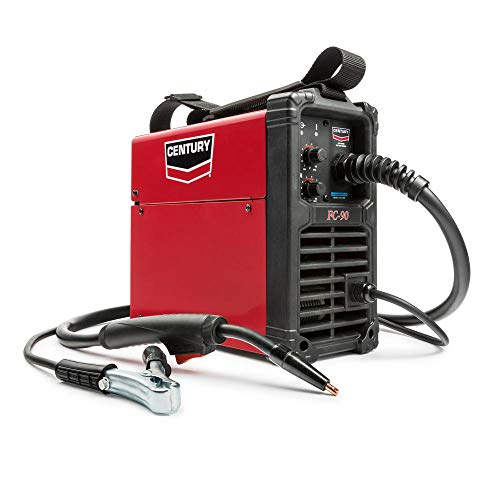Century K3493-1 90 Amp FC90 Flux Core Wire Feed Welder and Gun, 120V. Buy it now for 297.68