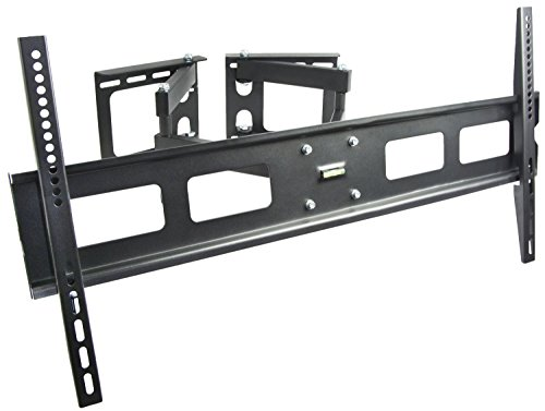 VIVO Corner TV Wall Mount for 37 to 63 inch LCD LED Plasma Flat Screens | Full Motion Articulating Bracket (MOUNT-CR01V)