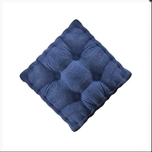 AINIYUE Cojín para Banco de jardín, Almohadilla Gruesa para Patio portátil, Alfombra reclinable para Silla de Descanso, para/Interior/Exterior 55x150cm Azul-1