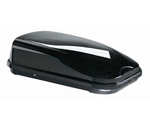 Dakkoffer VDP-FL320 zwart dakkoffer autokoffer zwart glanzend 320 liter