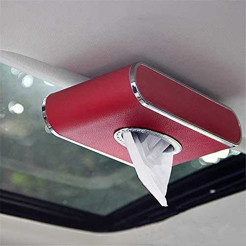 Zonneklep weefsel doos Auto Tissue Box Auto auto weefsel doos sterke magnetische papieren doos zonnedak dak vizier weefsel doos 24 * 12,5 * 5 cmHandy Papier Servet Houder Clip E