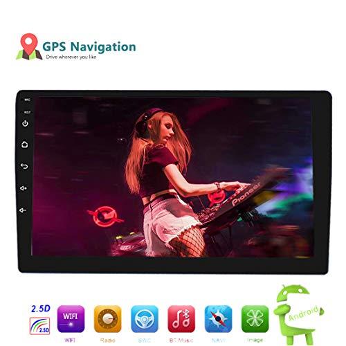 YUGUIYUN 9 Pulgadas Android 8.1 Radio De Coche 2 DIN Quad Core Radio De Coche Universal GPS Amplificador De Navegación Bluetooth Pantalla Táctil WiFi