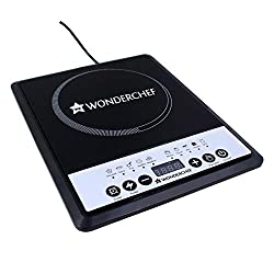 Wonderchef Power Induction Cooktop, 1800Watts, Push Button Control