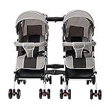OCYE Geschwister - / Zwillings - Kinderwagen, für Babys und Kleinkinder, nebeneinander, ab Geburt nutzbar (mit Tragetasche), schmal, schnell faltbar