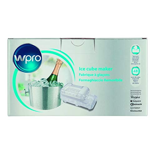 Wpro ICM101 Kühlzubehör, Ice Mate, Herausnehmbares Eisfach, Universell