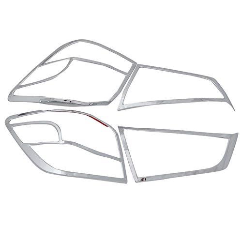 Für ASX 2013-2016 ABS Chrome Exterieur Rücklichter Stylingleisten 4 Stück Auto Style Zubehör