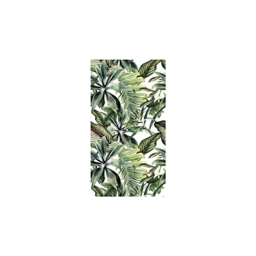 Savlot Papel pintado autoadhesivo papel pintado impermeable de PVC papel tapiz de hojas para dormitorio muebles de sala de estar ecológico DIY decoración del hogar