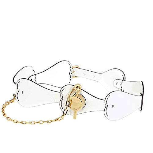JW Anderson White Corset Belt With Heart, Brand Size Small