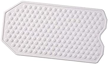 The Original Refinished Bathtub Mat - No Suction Cup Bath Mat - Luxury Massaging Ridges - Designed for Textured and Refinished Bathtubs - Made of Rubber Not Plastic - Great for Children/Elderly