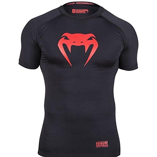 VENUM Contender, Maglietta di Compressione Man (Fitness...